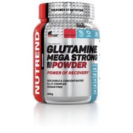 Nutrend Glutamine Mega Strong Powder, 500 g, punč+brusinka