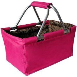 Toro Nákupní košík skládací 29l - růžový