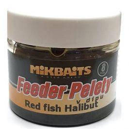 Mikbaits Halibutky v dipu Red fish 8mm 50ml