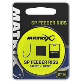 FOX Matrix 1m SP Feeder Rigs 0,125mm Velikost 20 10ks