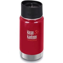 Klean Kanteen Insulated Wide w/Café Cap 2.0 - mineral red 355 ml