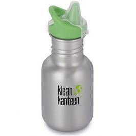 Klean Kanteen Kid Classic w/Kid Sippy Cap - brushed stainless 355 ml