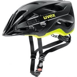 Uvex Active Cc, Black-Yellow Mat
