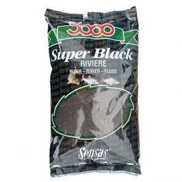 Sensas 3000 Super Black Riviere 1kg
