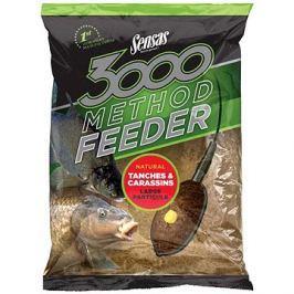 Sensas 3000 Method Feeder Tanches Carrasins 1kg