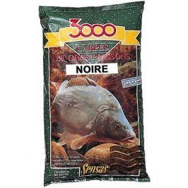 Sensas 3000 Carpes Noir 1kg