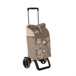 GIMI Rolling Thermo hnědý nákupní vozík 50 l