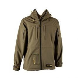 Tactic Carp Softshell Parka With Drill-Bag Olive Green