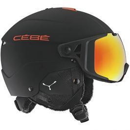Cébé Element Visor - Matt Black Red vel. 56 - 59 cm