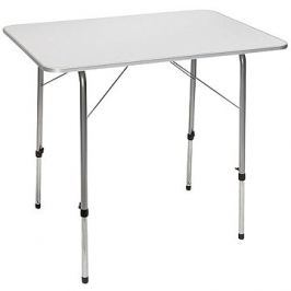 Camp Gear Table with Adjustable Legs 80x60cm