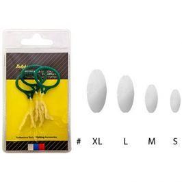 Delphin Průhledná silikonová zarážka XL 3ks