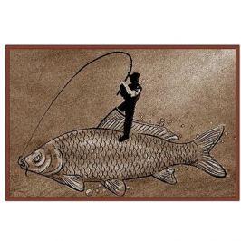 Delphin Rohožka Retro rybář