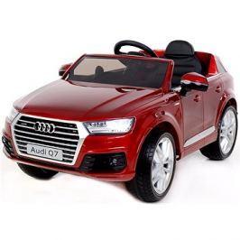 Audi Q7 lakované červené