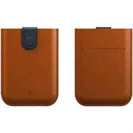 Powercube Dax wallet kožená - hnědá