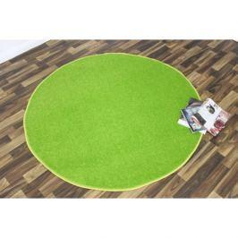 Hanse Home Collection koberce Kusový koberec Nasty 101149 Grün kruh,   200x200 cm kruh   Zelená