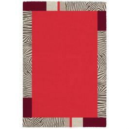 Obsession koberce Kusový koberec Broadway 283 CORAL,   160x230 cm Expres   Červená