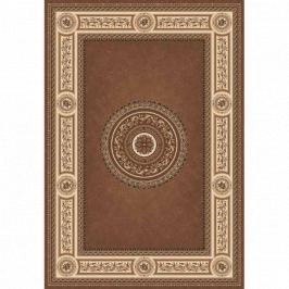 Lano luxusní orientální koberce Kusový koberec Kamira 4452-807,   170x240 cm Hnědá