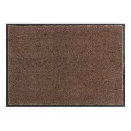 Hanse Home Collection koberce Rohožka Soft & Clean 102461,   67x67 tvar kytka   Hnědá