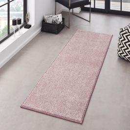Hanse Home Collection koberce Kobercová sada Pure 102617 Rosa,   (3 díly; 2x 70x140 cm cm; 1x 70x240 cm cm)   Růžová