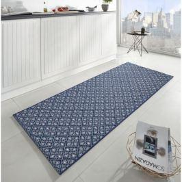 Zala Living - Hanse Home koberce Běhoun Soho 102678 Blau 80x200 cm cm,   80x200 cm   Modrá