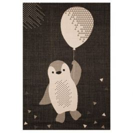 Zala Living - Hanse Home koberce Kusový koberec Vini 103025 Penguin Rico 120x170 cm cm,   120x170 cm   Černá