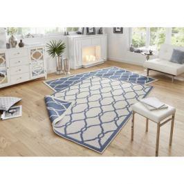Bougari - Hanse Home koberce Twin-Wendeteppiche Kusový koberec 103123 blau creme,   80x150 cm   Modrá