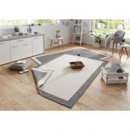 Bougari - Hanse Home koberce Twin-Wendeteppiche Kusový koberec 103108 creme grau,   120x170 cm   Šedá