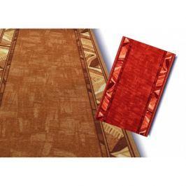 Spoltex koberce Liberec Běhoun Corrido 84, Šířka běhounu šíře 67 cm Červená
