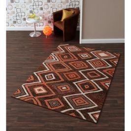 Hanse Home Collection koberce  Kusový koberec Prime Pile 102177 Square Braun Orange,   80x200 cm Hnědá