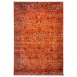 Obsession koberce Kusový koberec Laos 454 CORAL,   80x150 cm Expres   Červená