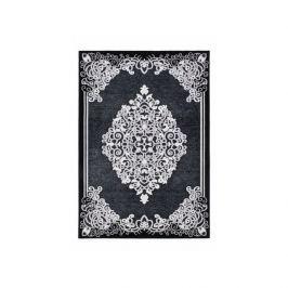 Lalee koberce Kusový koberec Jemila JEM 539 Black,   80x150 cm Černá