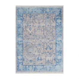 Lalee koberce Kusový koberec Vintage VIN 702 Silver-Blue,   120x170 cm Modrá