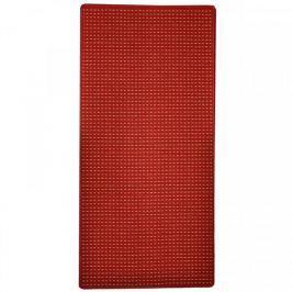 Vopi koberce Běhoun Birmingham červený, Šířka běhounu šíře 60 cm Červená