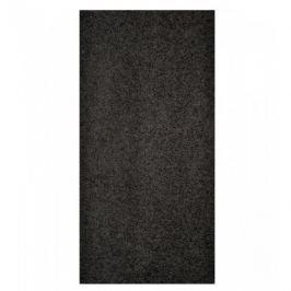 Vopi koberce Běhoun Color Shaggy černý, Šířka běhounu šíře 60 cm Černá