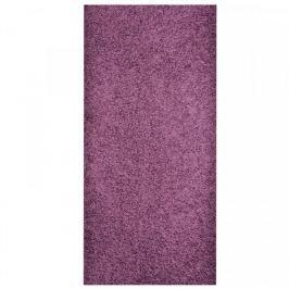 Vopi koberce Běhoun Color Shaggy fialový, Šířka běhounu šíře 100 cm Fialová