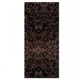Vopi koberce Běhoun Color Shaggy tmavě hnědý, Šířka běhounu šíře 60 cm Hnědá
