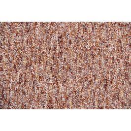 Metrážový koberec Savannah 84, Rozměr metrážního koberce 4m Rozměr na míru s obšitím Červená