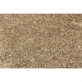 Metrážový koberec Tresor 37, Rozměr metrážního koberce 4m Rozměr na míru s obšitím Hnědá