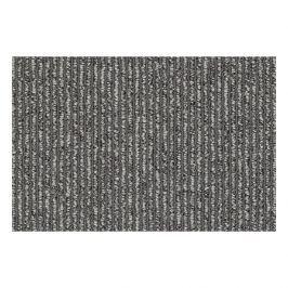Vorwerk Metrážový koberec Strada 5R75 světle šedý, Rozměr metrážního koberce 4m Rozměr na míru s obšitím Šedá