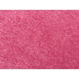 Vopi koberce Metrážový koberec Eton růžový, Rozměr metrážního koberce 4m Rozměr na míru s obšitím Růžová