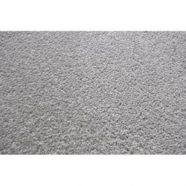 Vopi koberce Metrážový koberec Eton šedý, Rozměr metrážního koberce 4m Rozměr na míru Šedá