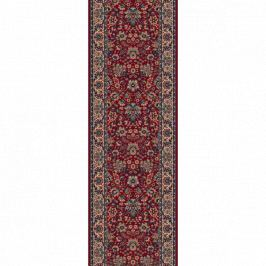 Lano luxusní orientální koberce Běhoun Konia 1164-501, Šířka běhounu šíře 60 cm Červená
