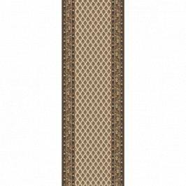 Lano luxusní orientální koberce Běhoun Kasbah 12248-477, Šířka běhounu šíře 50 cm Hnědá, Béžová