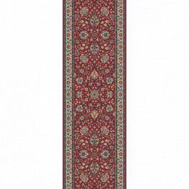 Lano luxusní orientální koberce Běhoun Kasbah 12246-474, Šířka běhounu šíře 50 cm Červená