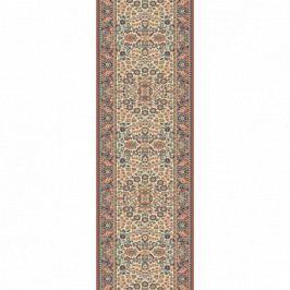 Lano luxusní orientální koberce Běhoun Kasbah 12241-471, Šířka běhounu šíře 83 cm Béžová