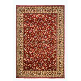 Sintelon koberce Kusový koberec SOLID 50 CEC,   240x340 cm Červená
