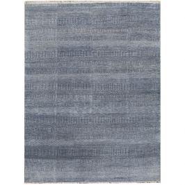 Diamond Carpets koberce Ručně vázaný kusový koberec Diamond DC-MCN Denim blue/silver,   365x550 Modrá, Šedá