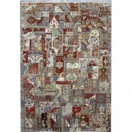 Diamond Carpets koberce Ručně vázaný kusový koberec Diamond DC-PATCH RED MULTI,   275x365 Béžová