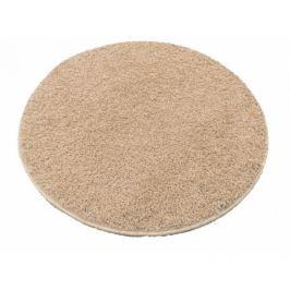 Vopi koberce Kusový kulatý koberec Color shaggy béžový,   160x160 cm kruh Béžová