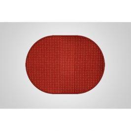 Vopi koberce Kusový koberec Birmingham vínový ovál,   57x120 cm Červená